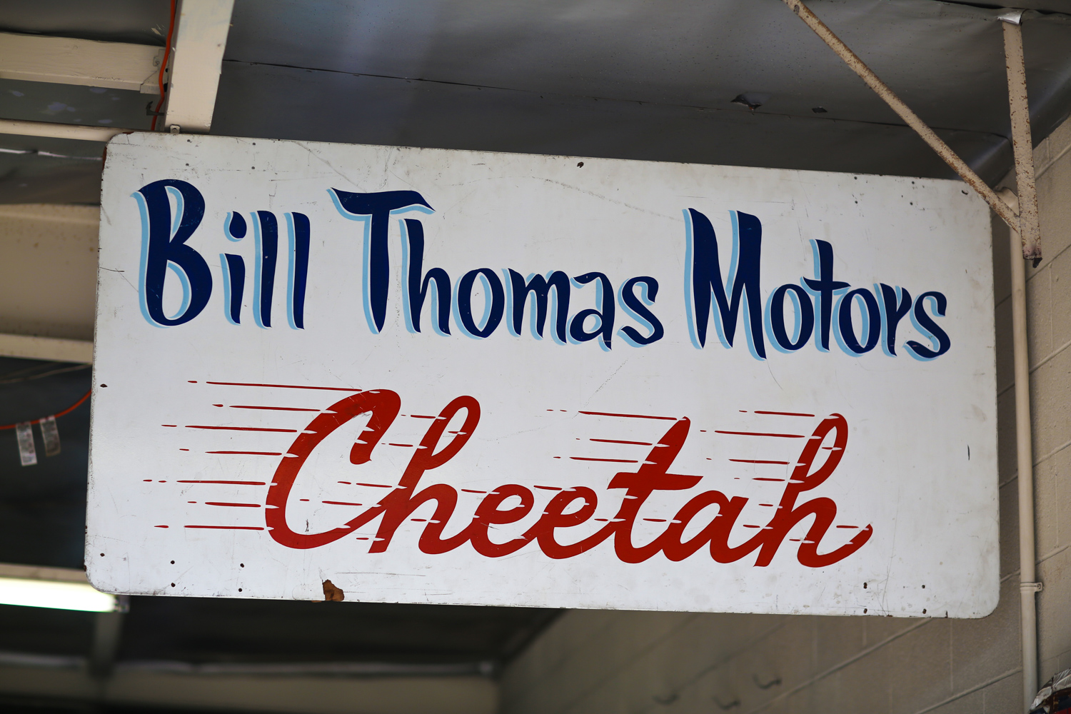 bill thomas cheetah sign