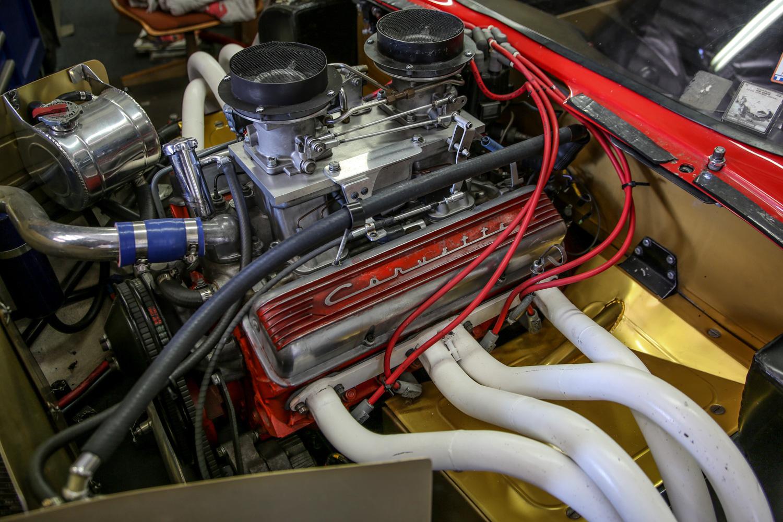 bill thomas cheetah engine side