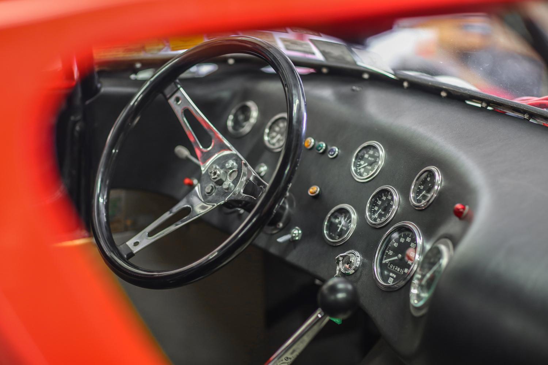 cheetah dash and steering wheel