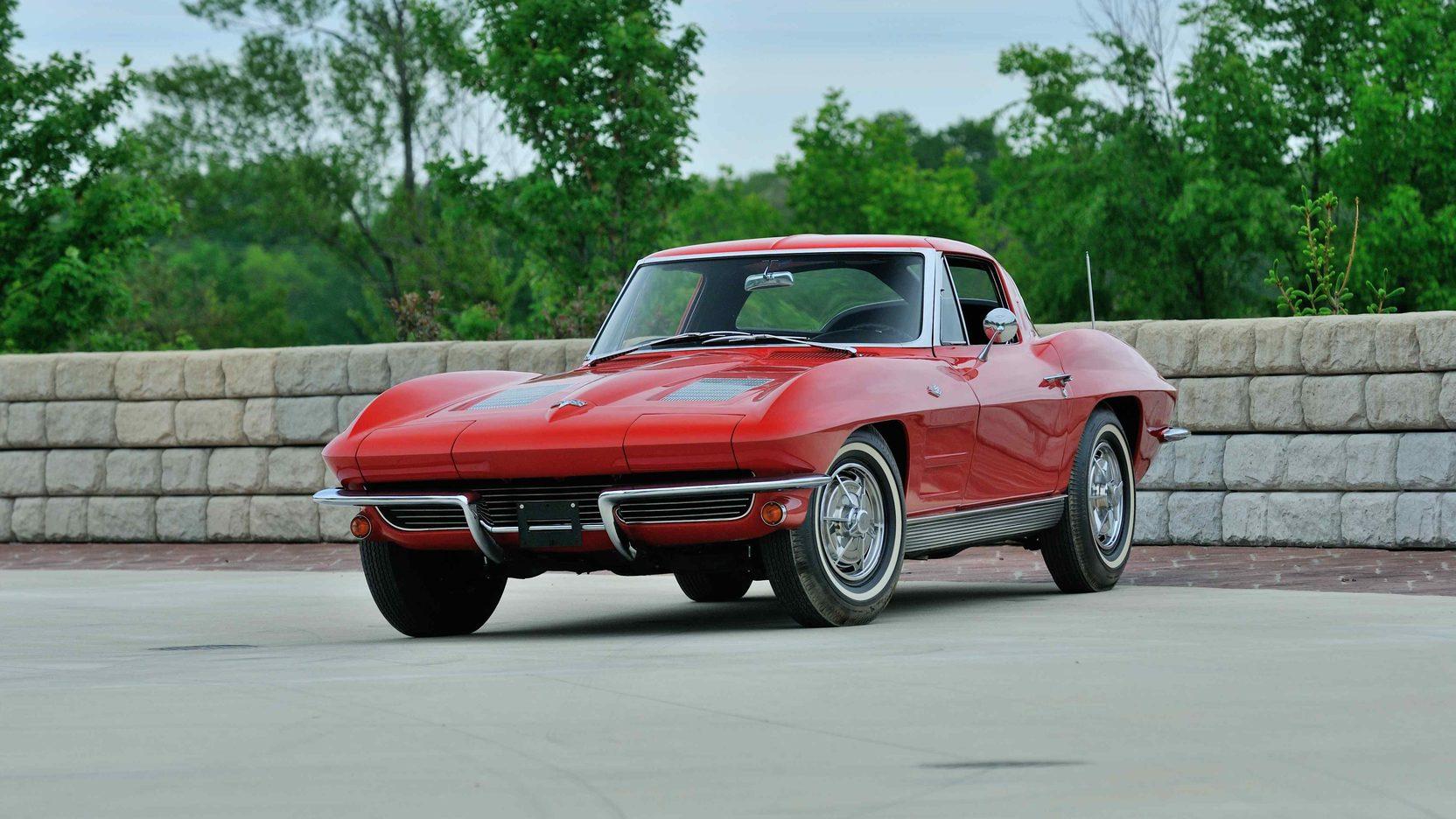 1963 Chevrolet Corvette front 3/4