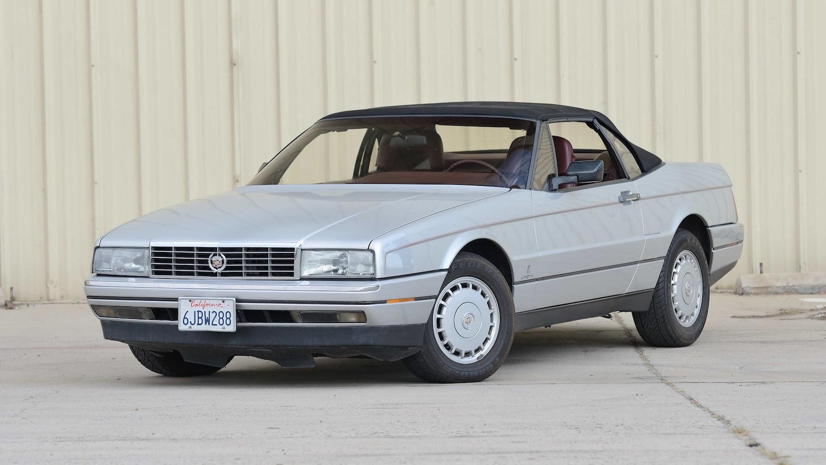 1987 Cadillac Allante 3/4 front