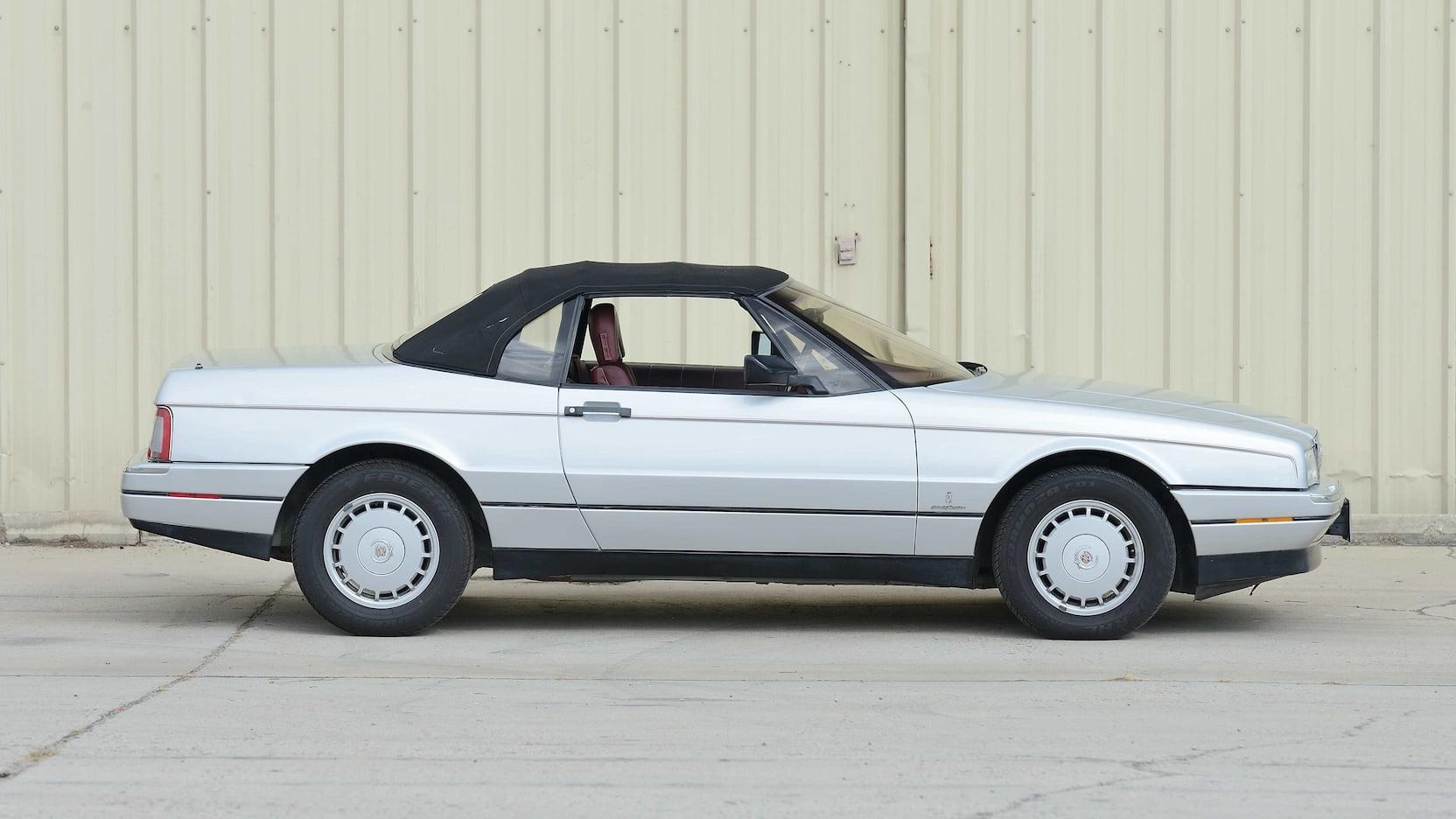 1987 Cadillac Allante side