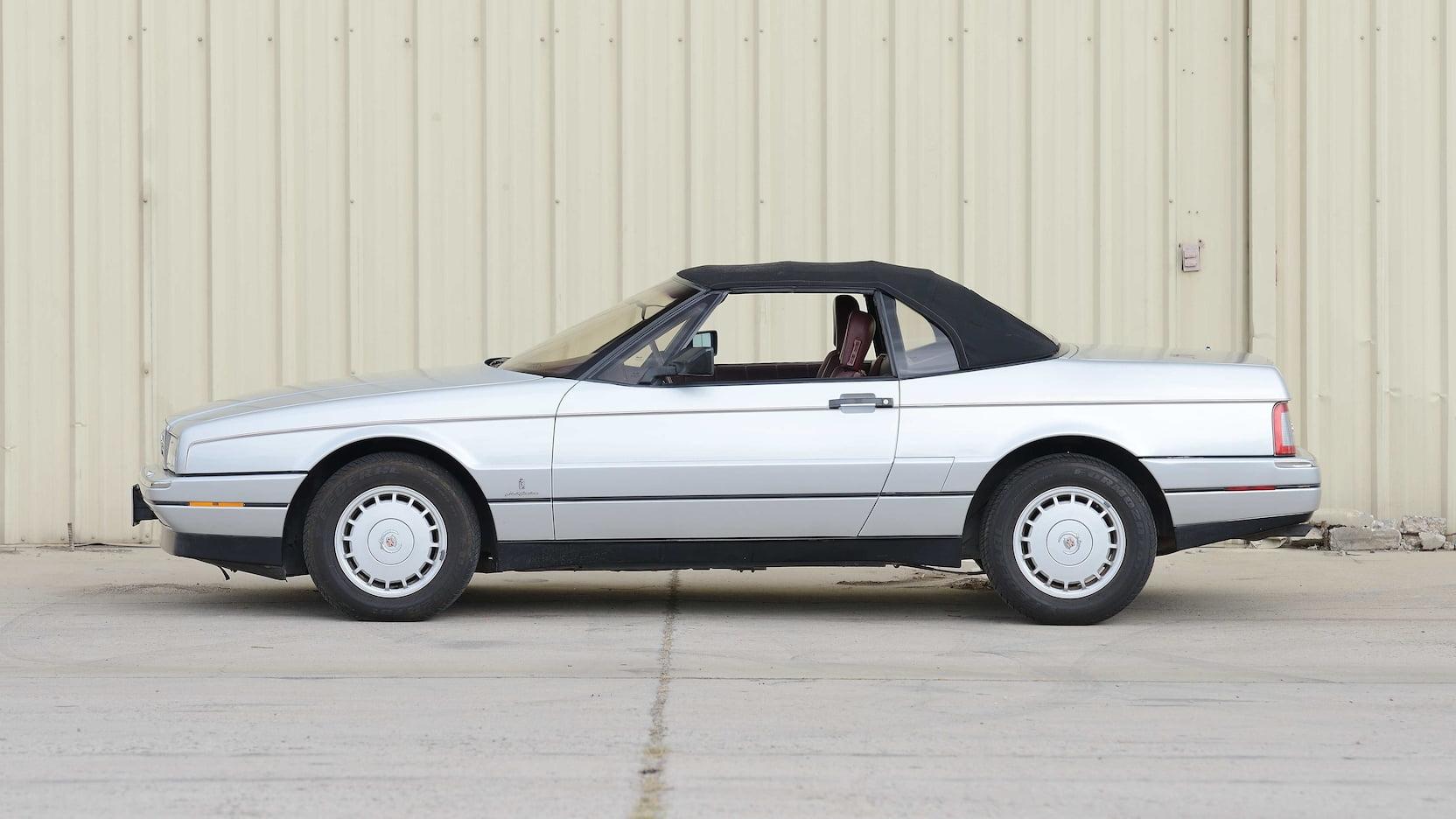 1987 Cadillac Allante side driver