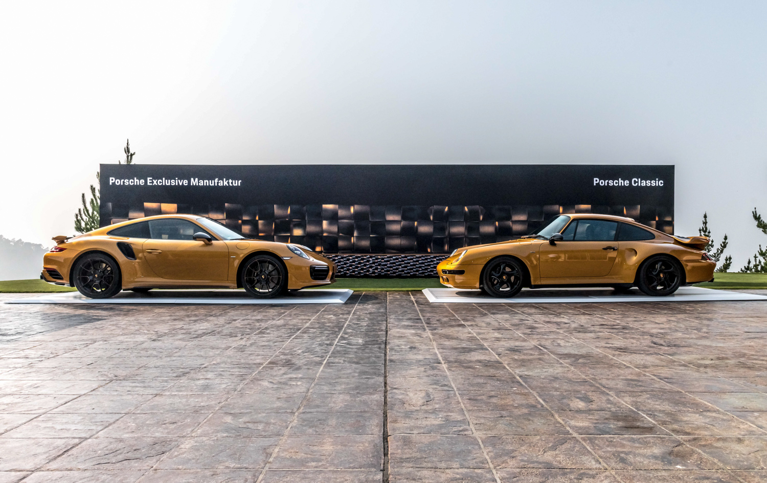 Porsche Project Gold release event