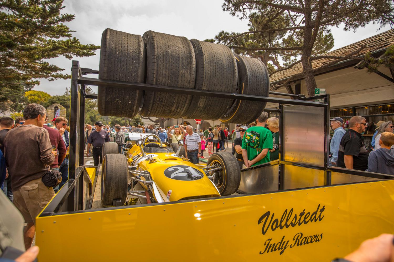 2018 Pebble Beach Tour indy race car