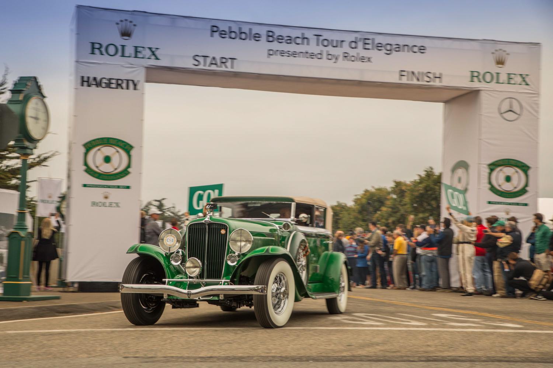 2018 Pebble Beach Tour green full classic
