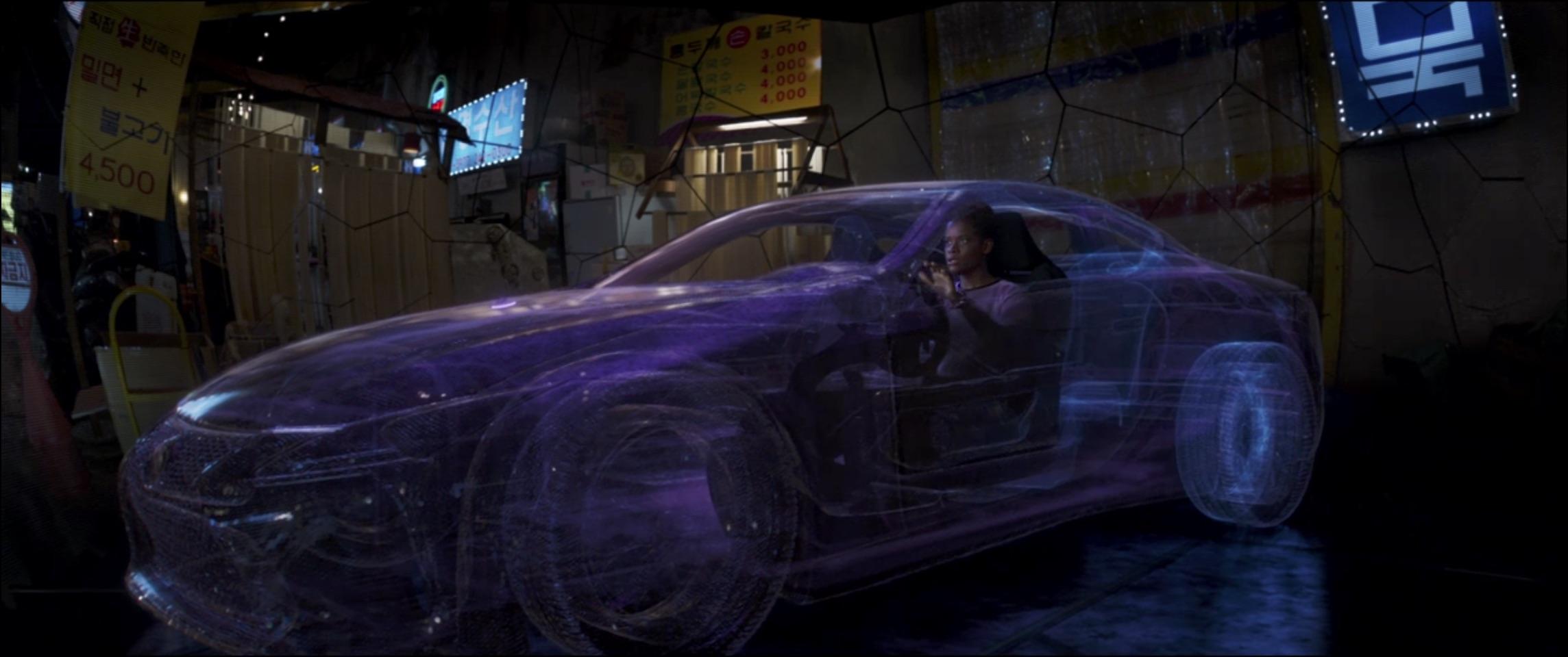 Marvel Black Panther digital car