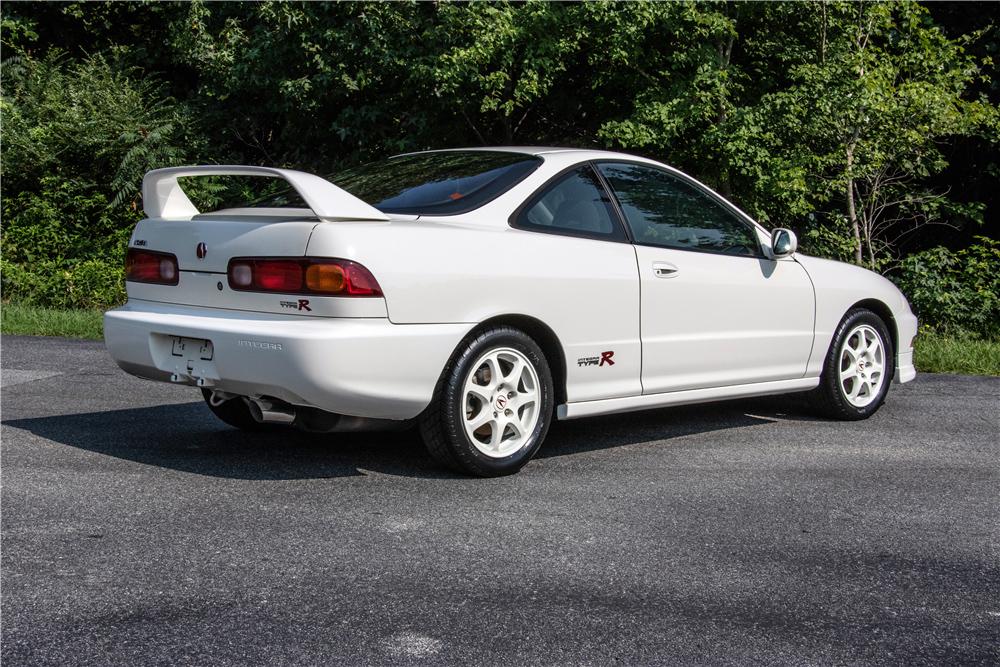 1997 Acura Integra Type R rear 3/4