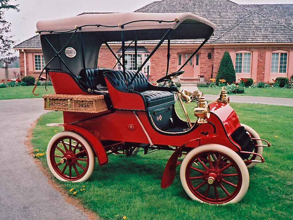 1903 Cadillac oldest 34/