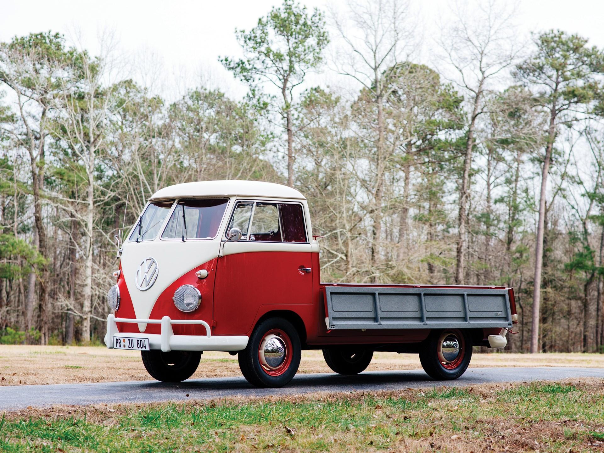 1961 Volkswagen Single-Cab Pickup sides down