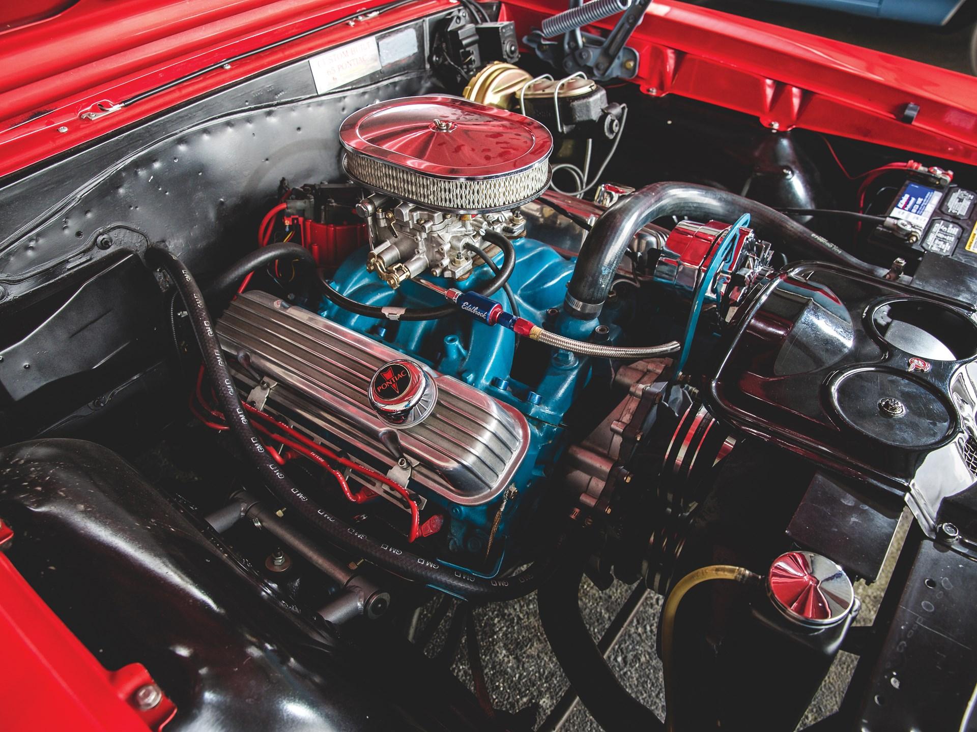 "1965 Pontiac GTO ""Chief Camino"" engine"