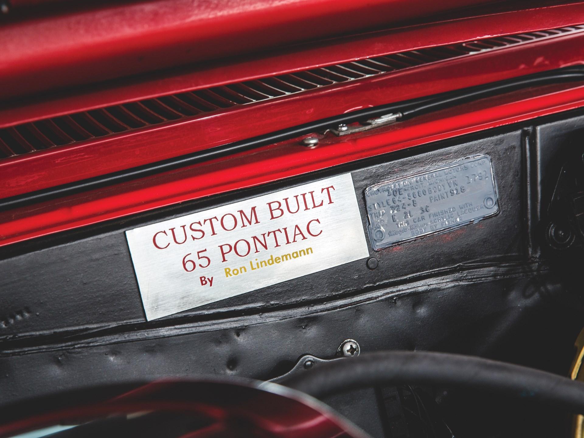 """1965 Pontiac GTO """"Chief Camino"""" custom built"""