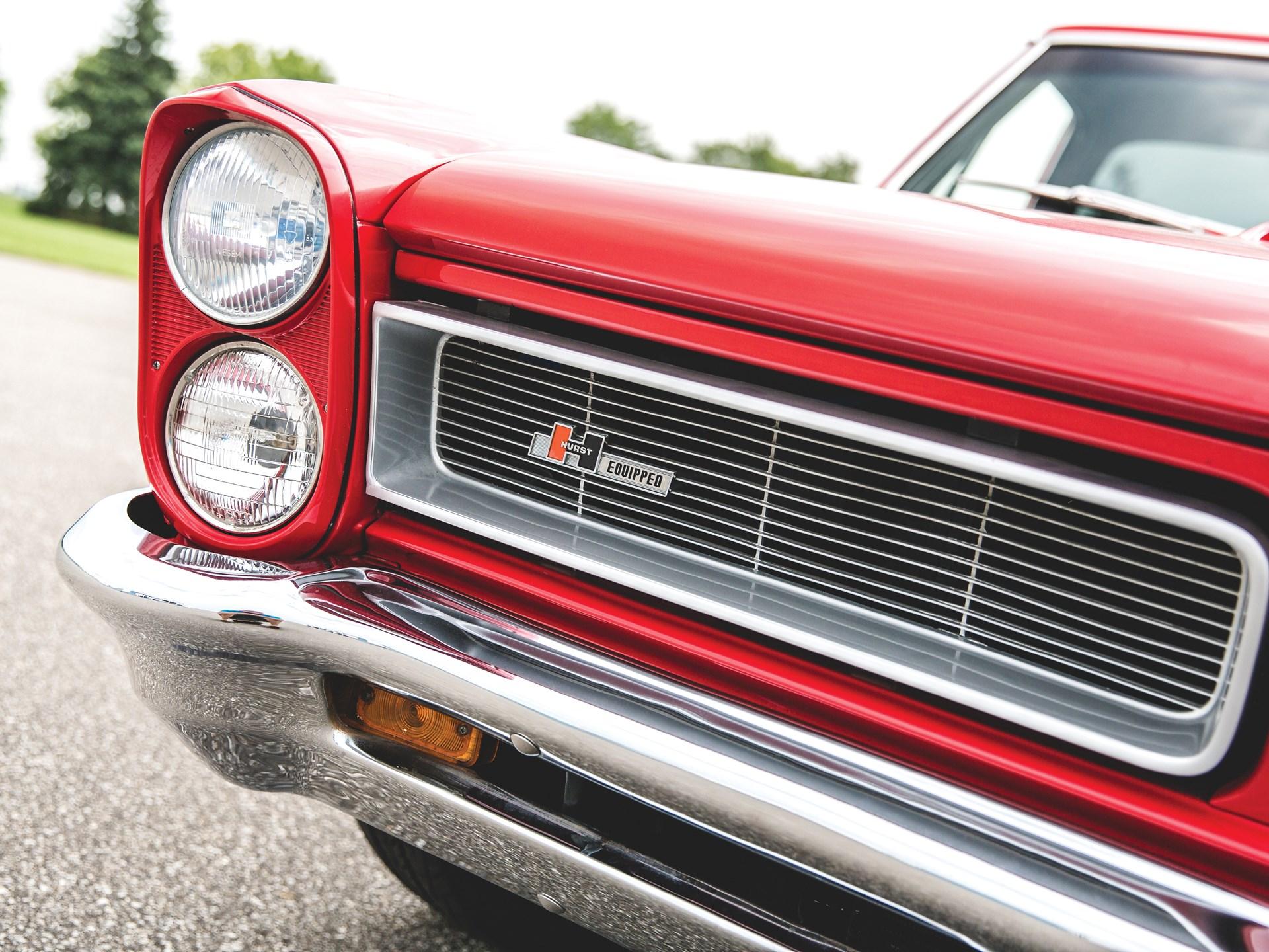 "1965 Pontiac GTO ""Chief Camino"" headlights grill"