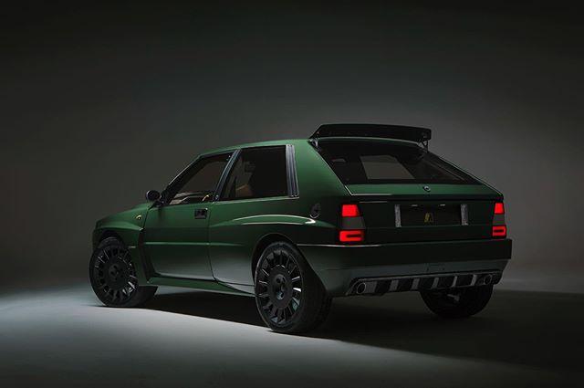 Lancia Delta Futurista rear 3/4