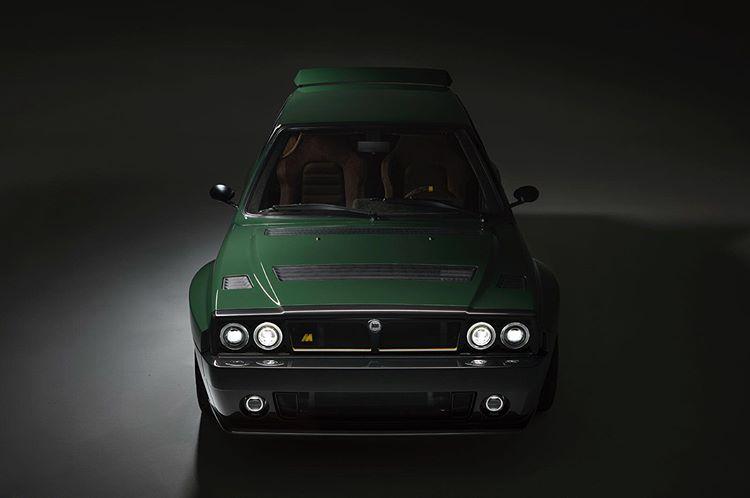 Lancia Delta Futurista front view