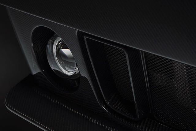 Lancia Delta Futurista fog light