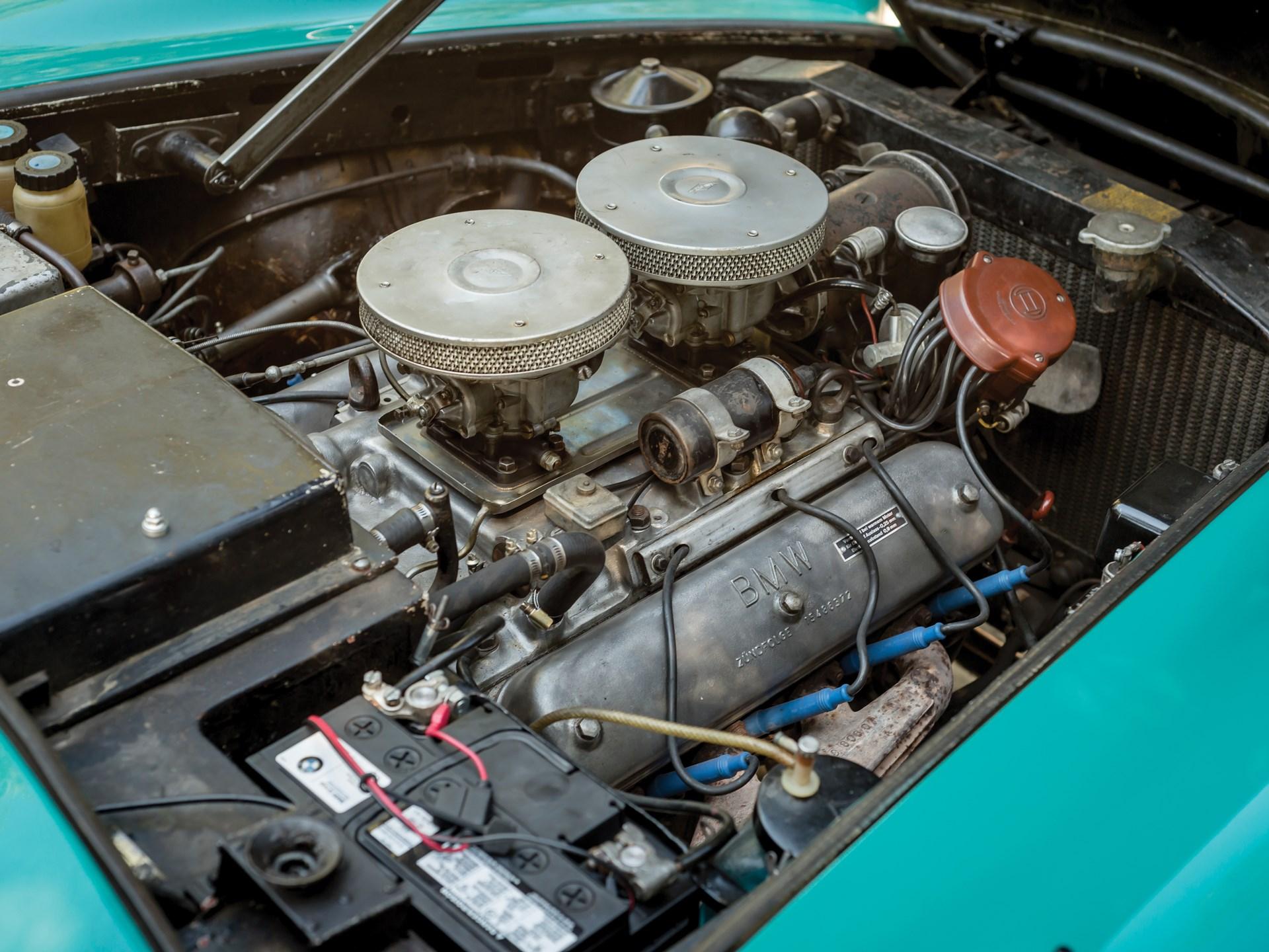 1957 BMW 507 v8 engine
