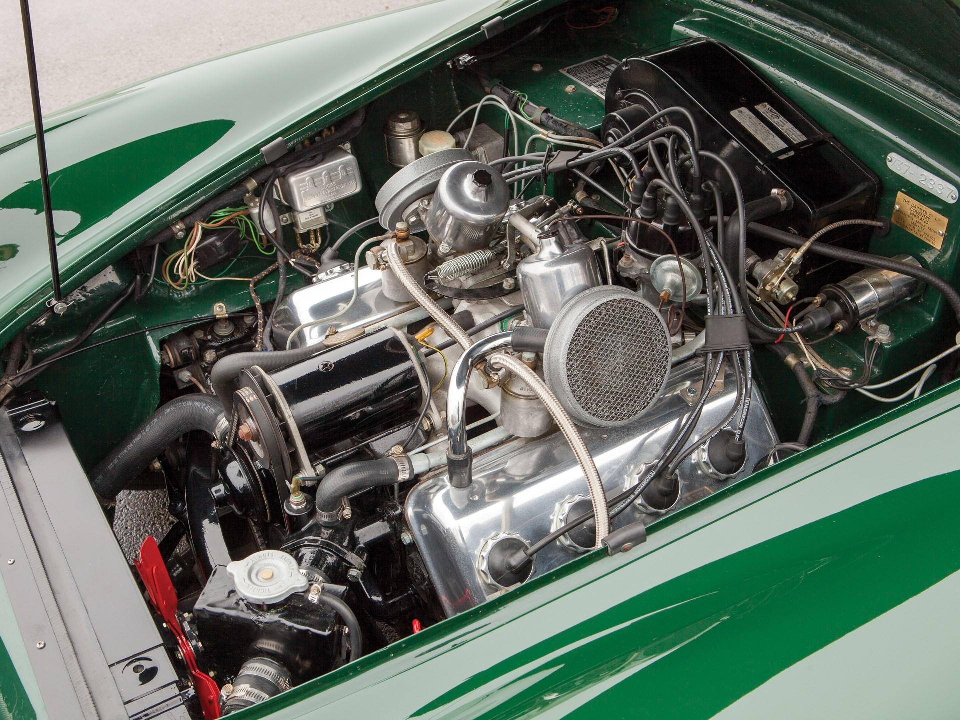 1963 Daimler SP250 dart engine