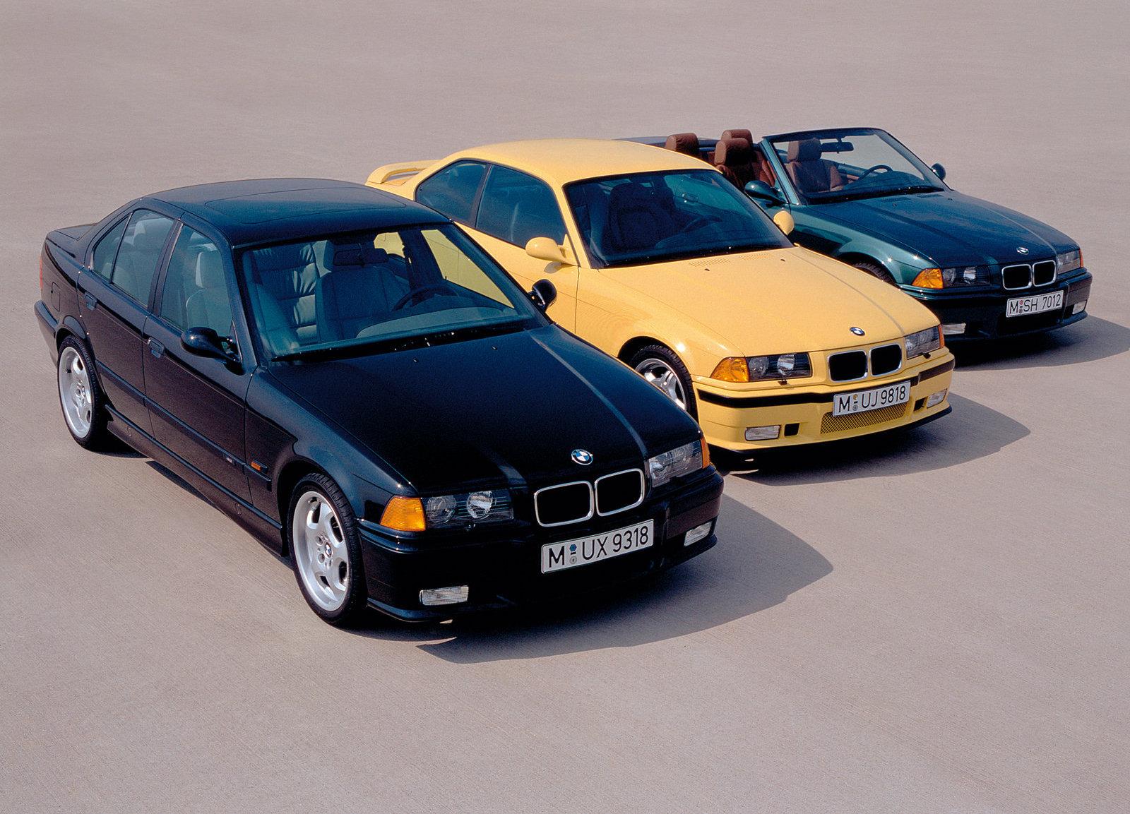 1995 BMW M3 lineup