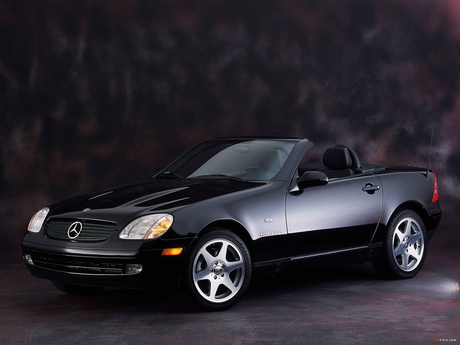 1996 Mercedes-Benz SLK 230