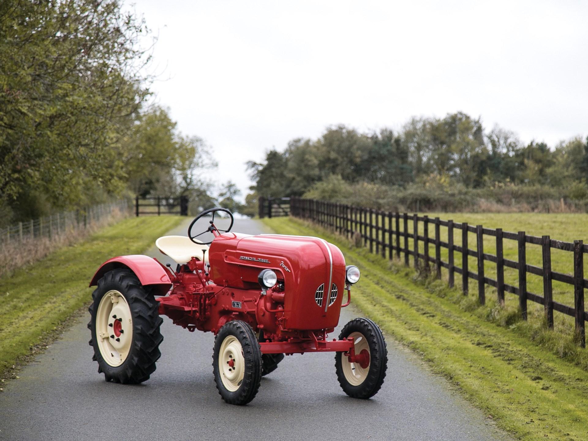 Porsche racers, start your tractors! Wait, what? thumbnail