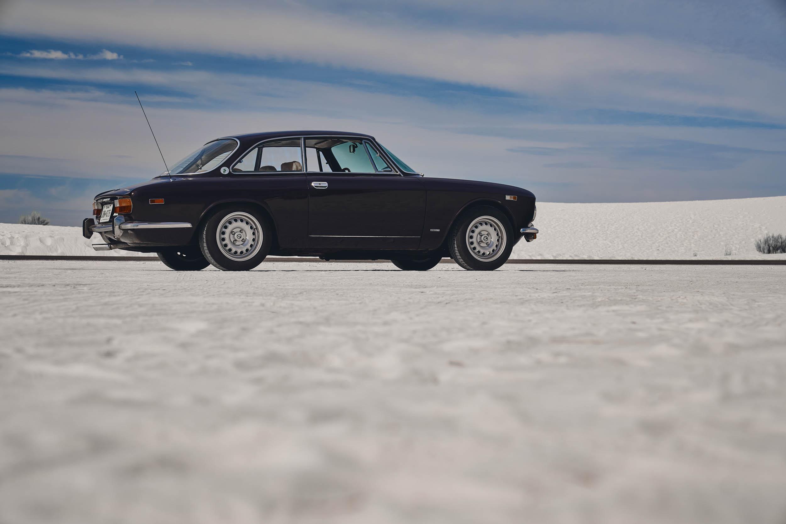 Alfa Romeo GTV desert profile