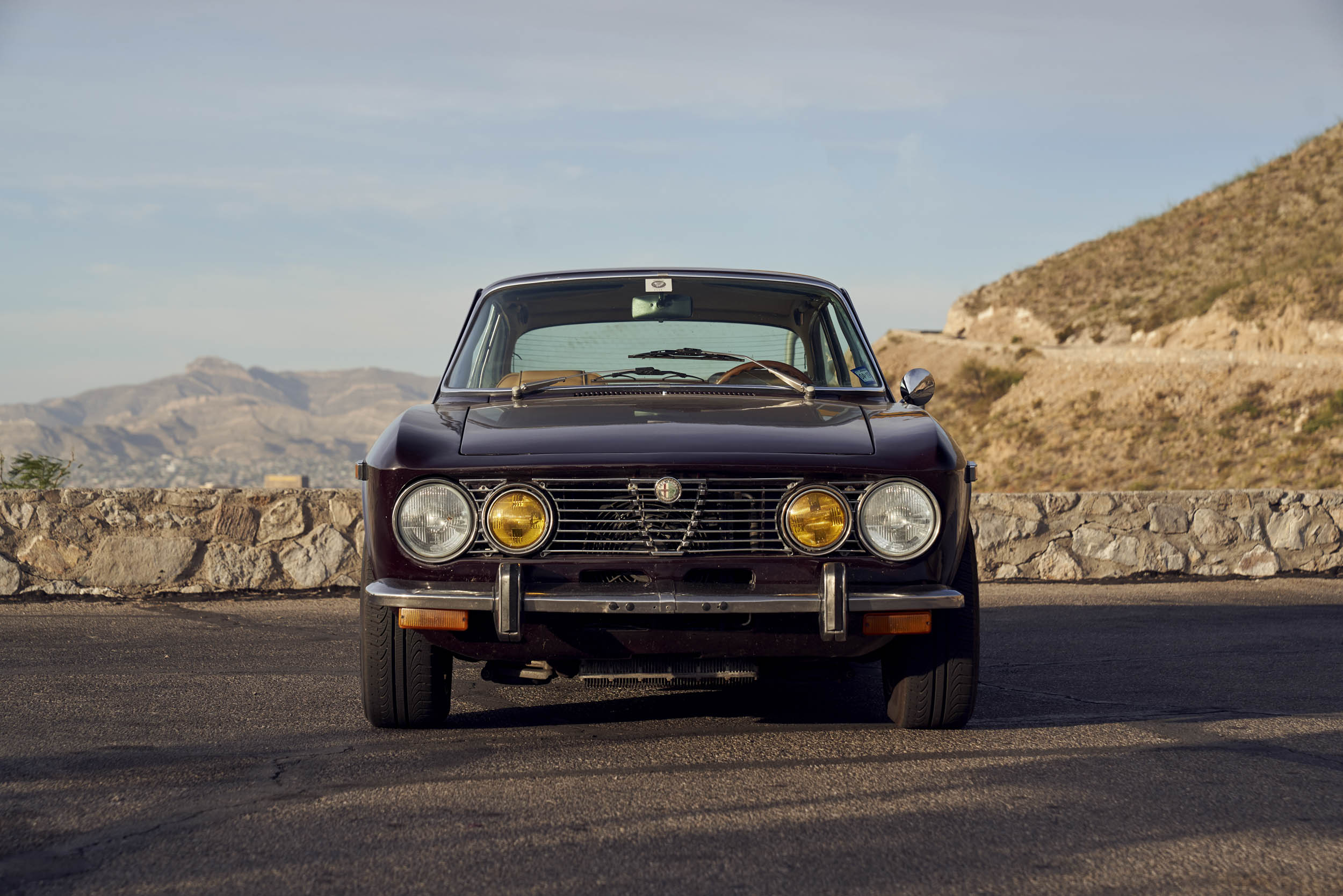 1974 Alfa Romeo GTV 2000 front