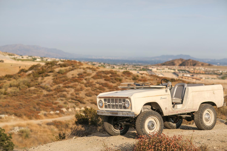 1966 Icon Derelict Bronco desert hills