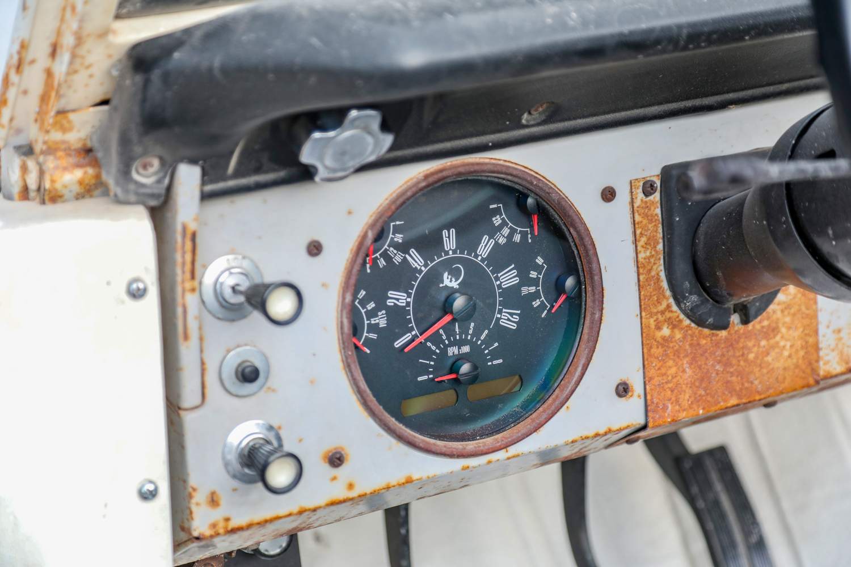 1966 Icon Derelict Bronco gauges