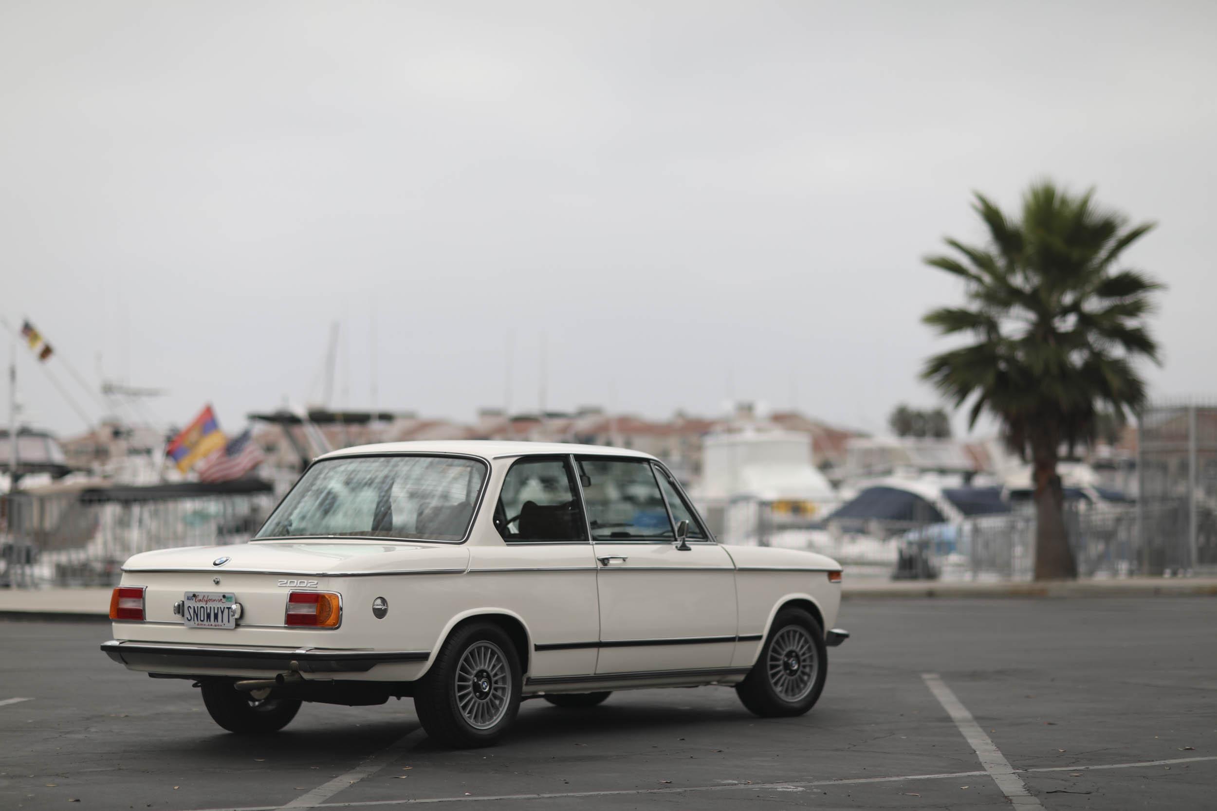 1975 BMW 2002 rear 3/4