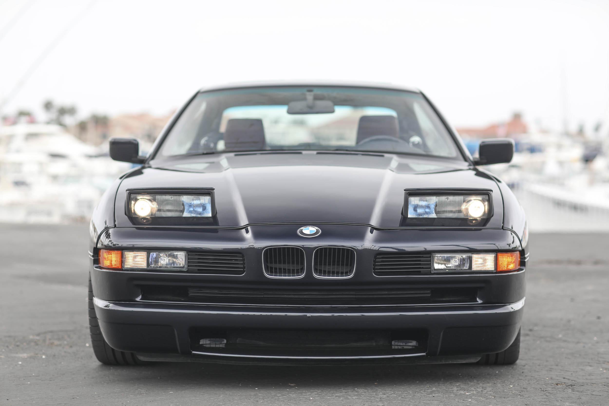 1993 BMW 850Ci front