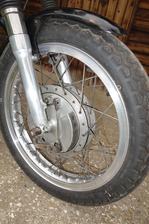 1960 Norton Dominator SS650 detail brakes