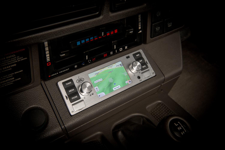 Classic car mmi interface