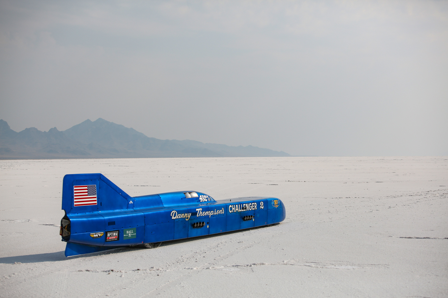 Danny Thompson and the record-breaking Challenger 2 streamliner retire thumbnail