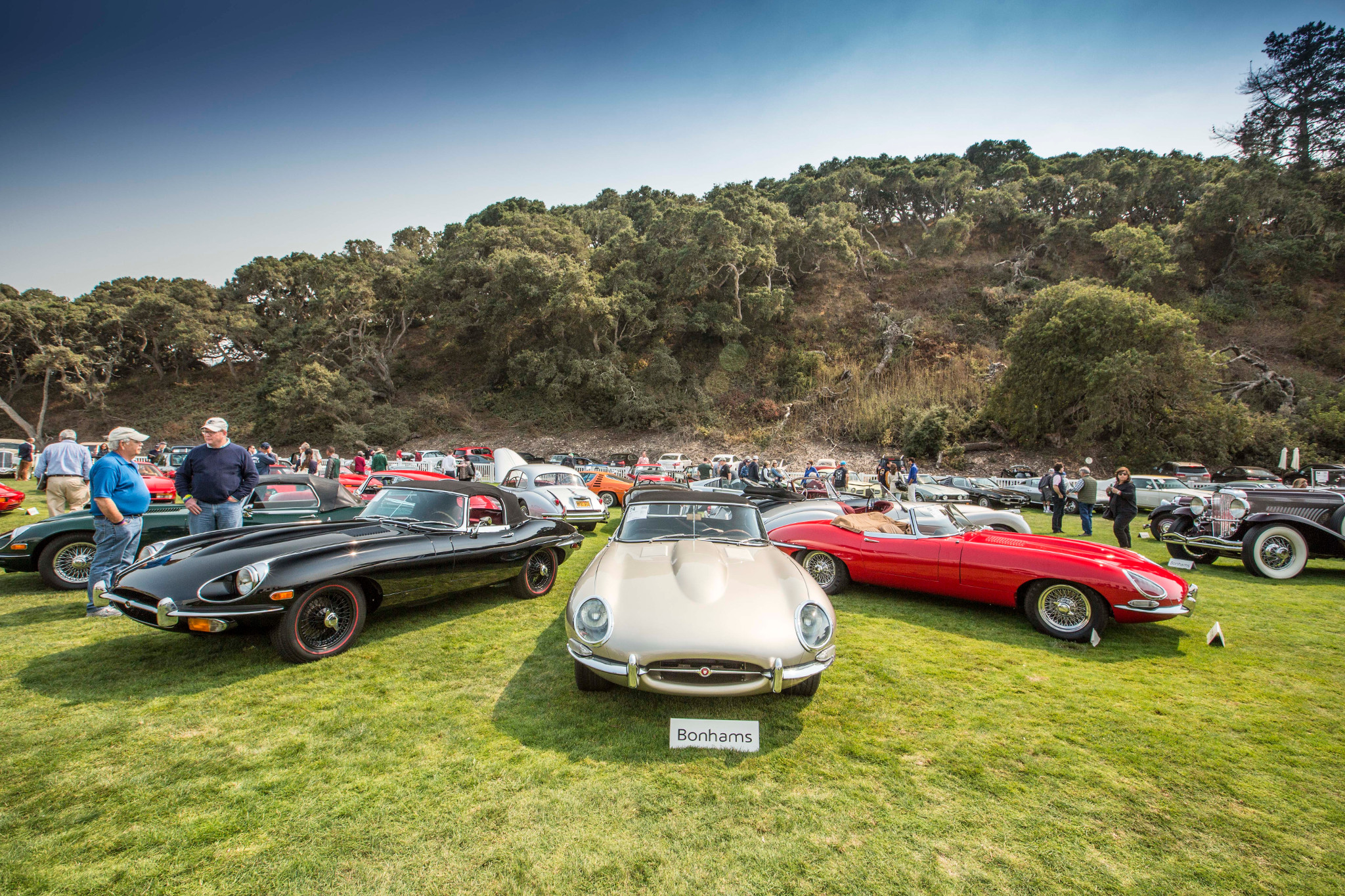 Bonhams pebble beach quail lodge jaguars