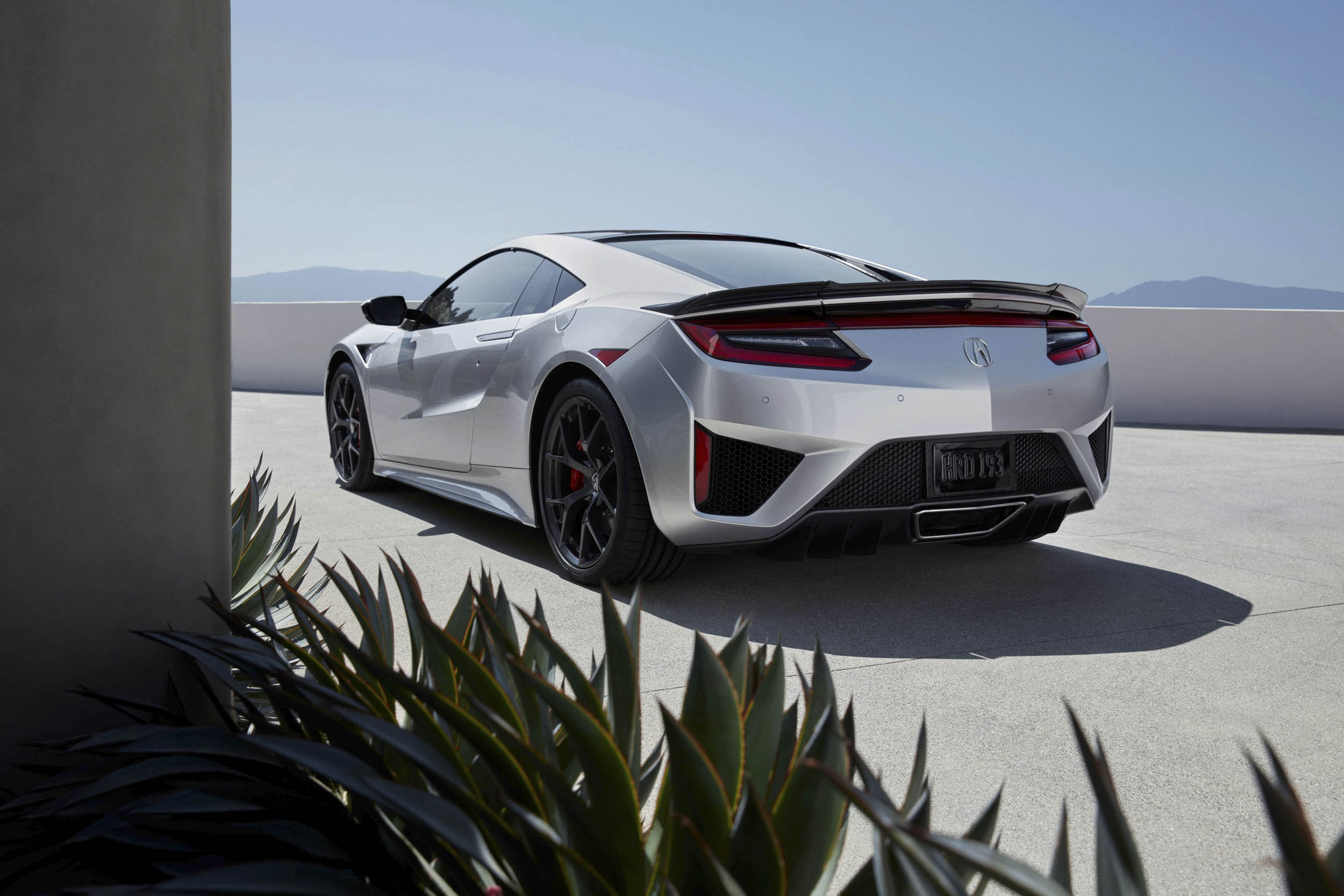 2019 Acura NSX rear 3/4