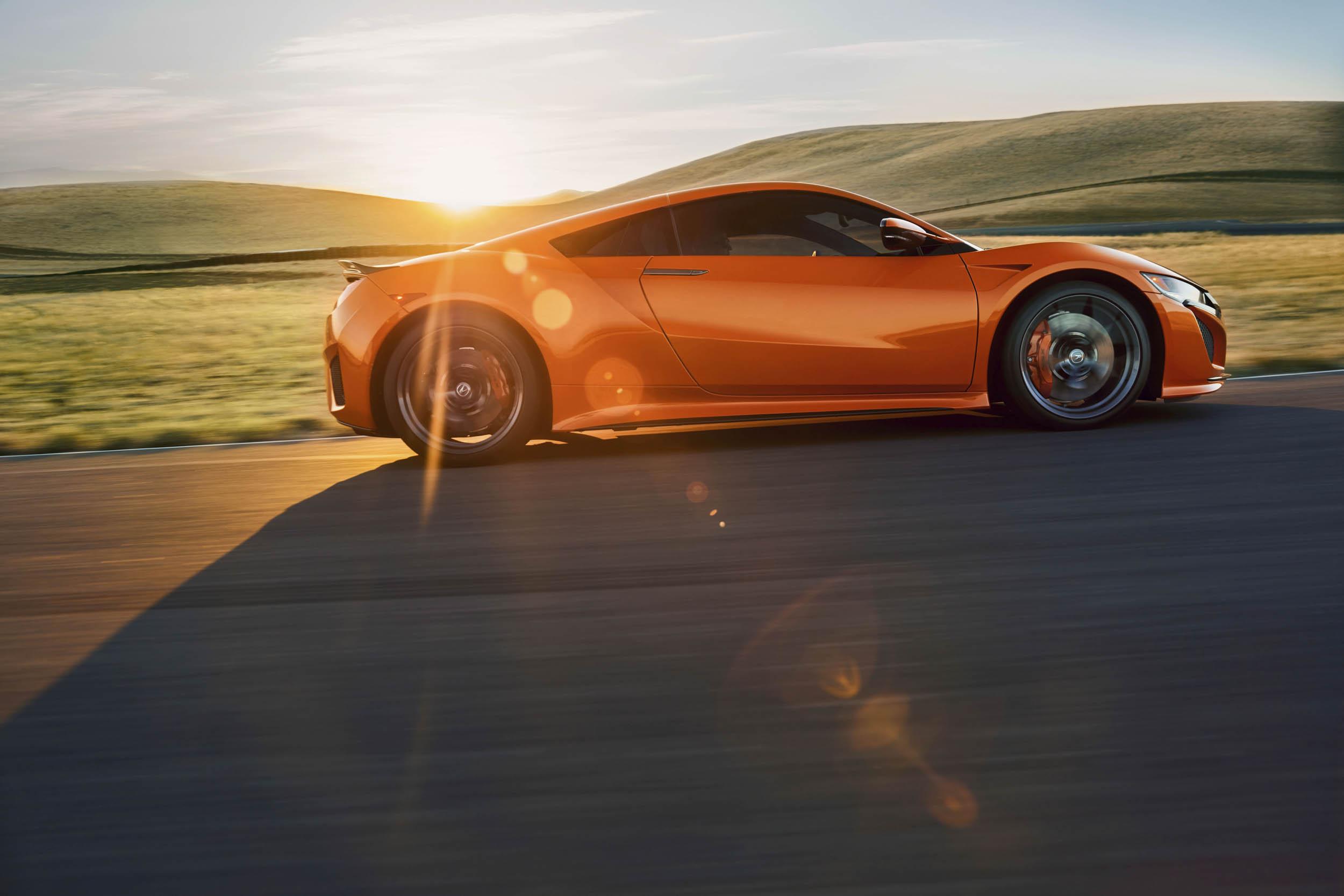 2019 Acura NSX profile