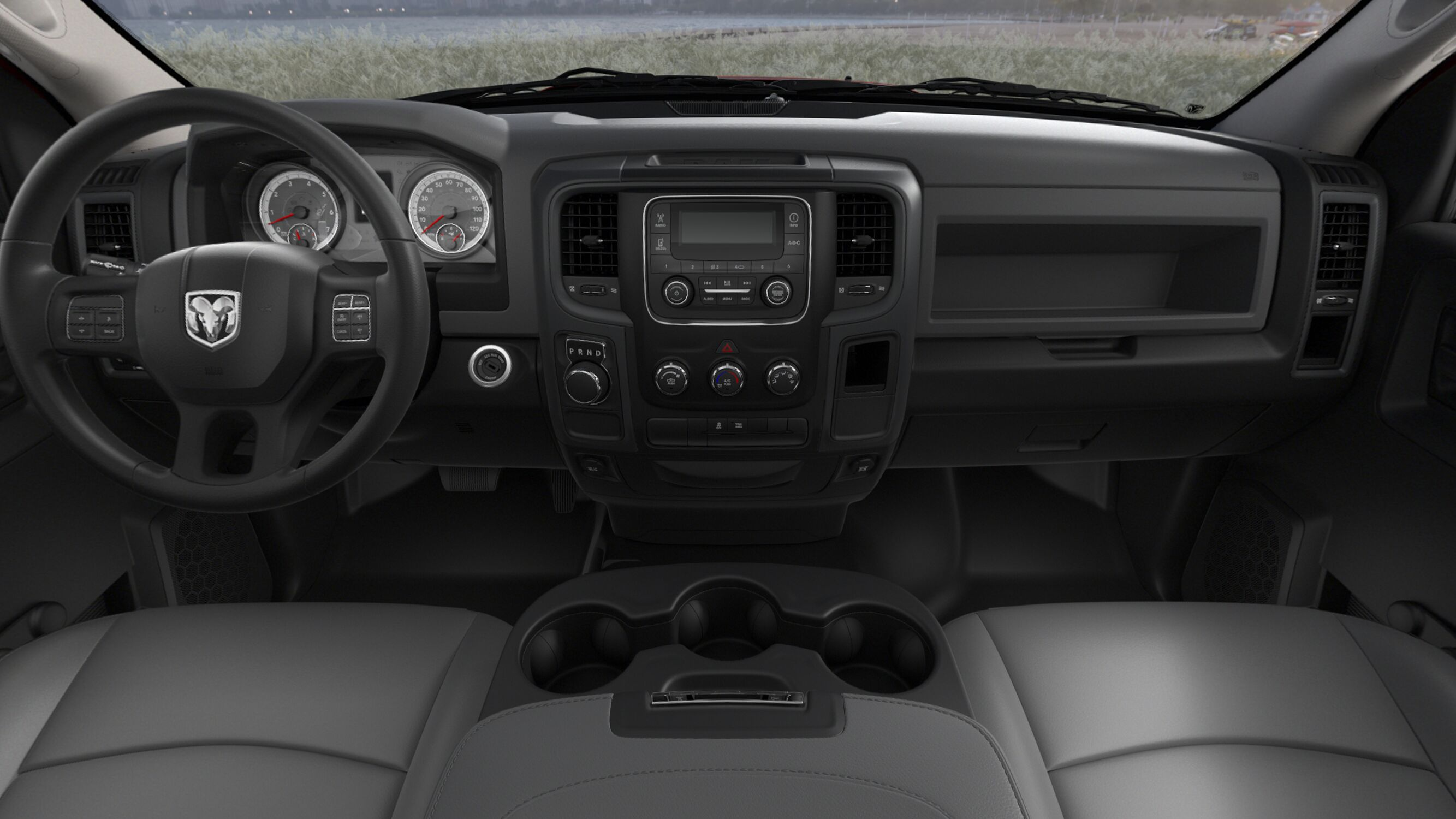 2018 Ram Tradesman 1500 interior