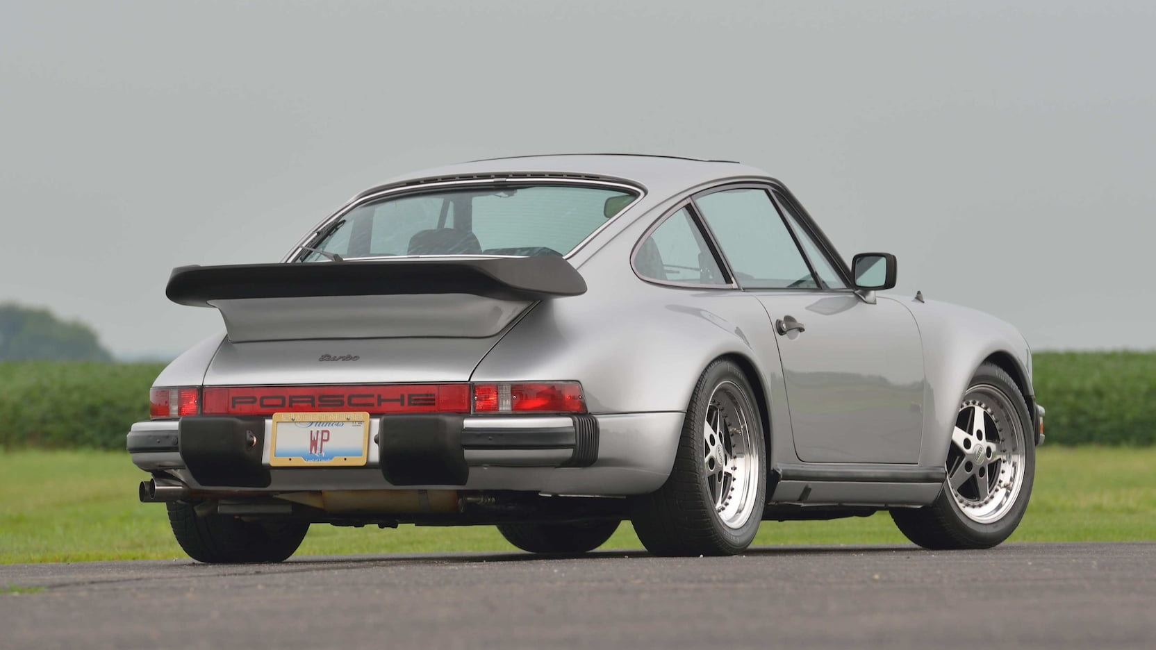 Walter Payton's 1979 Porsche 930 Turbo rear 3/4