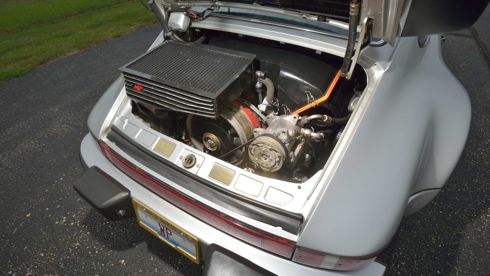 Walter Payton's 1979 Porsche 930 Turbo engine