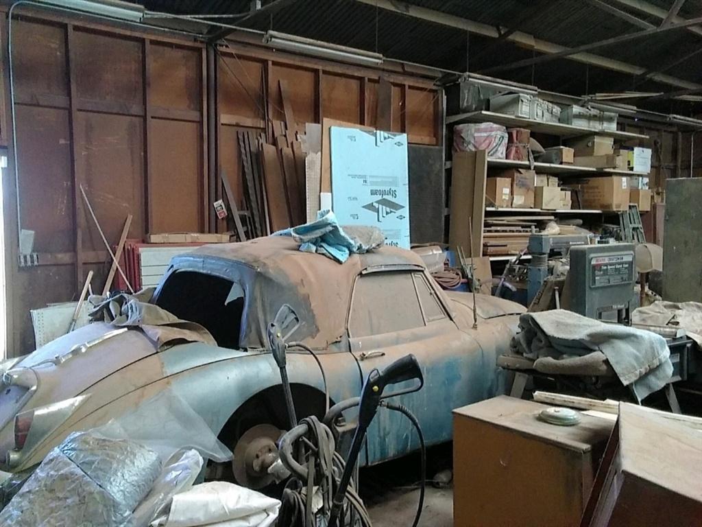 1961 Jaguar XK150 barnfind