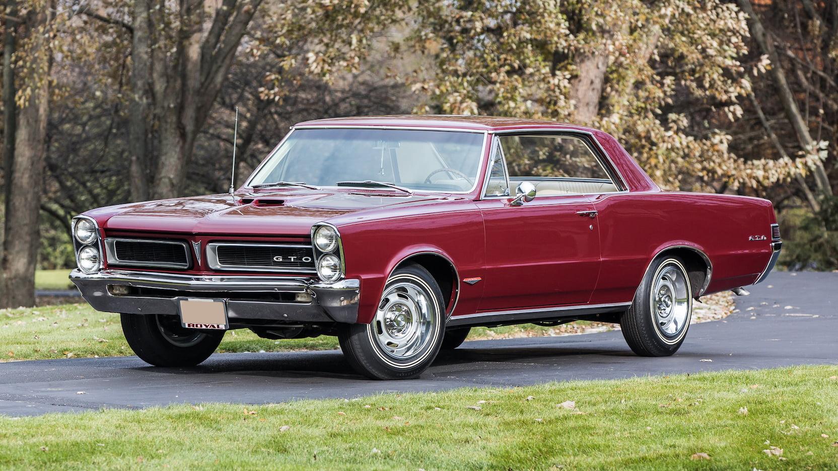 1965 Pontiac GTO exterior