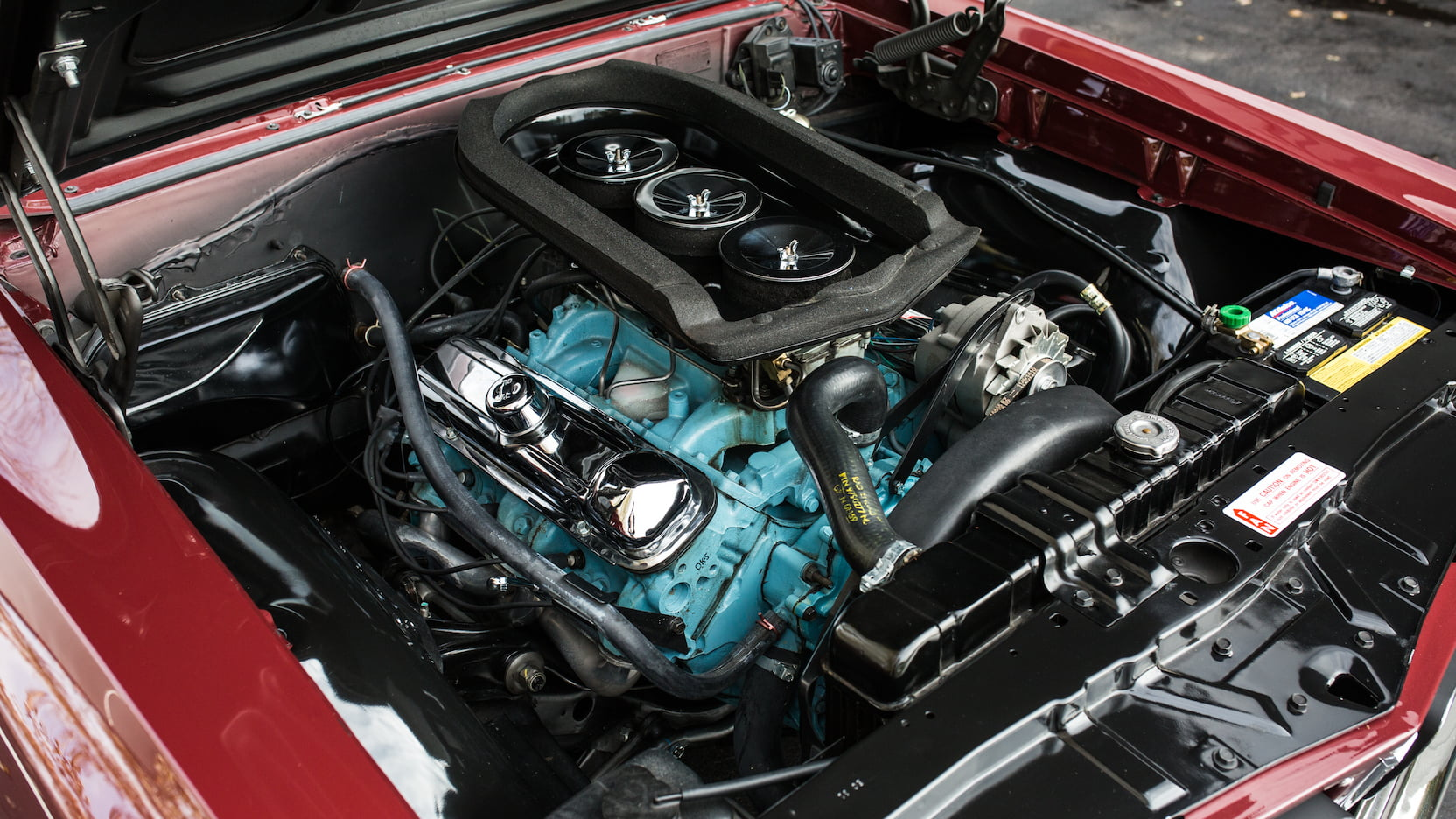 1965 Pontiac GTO engine