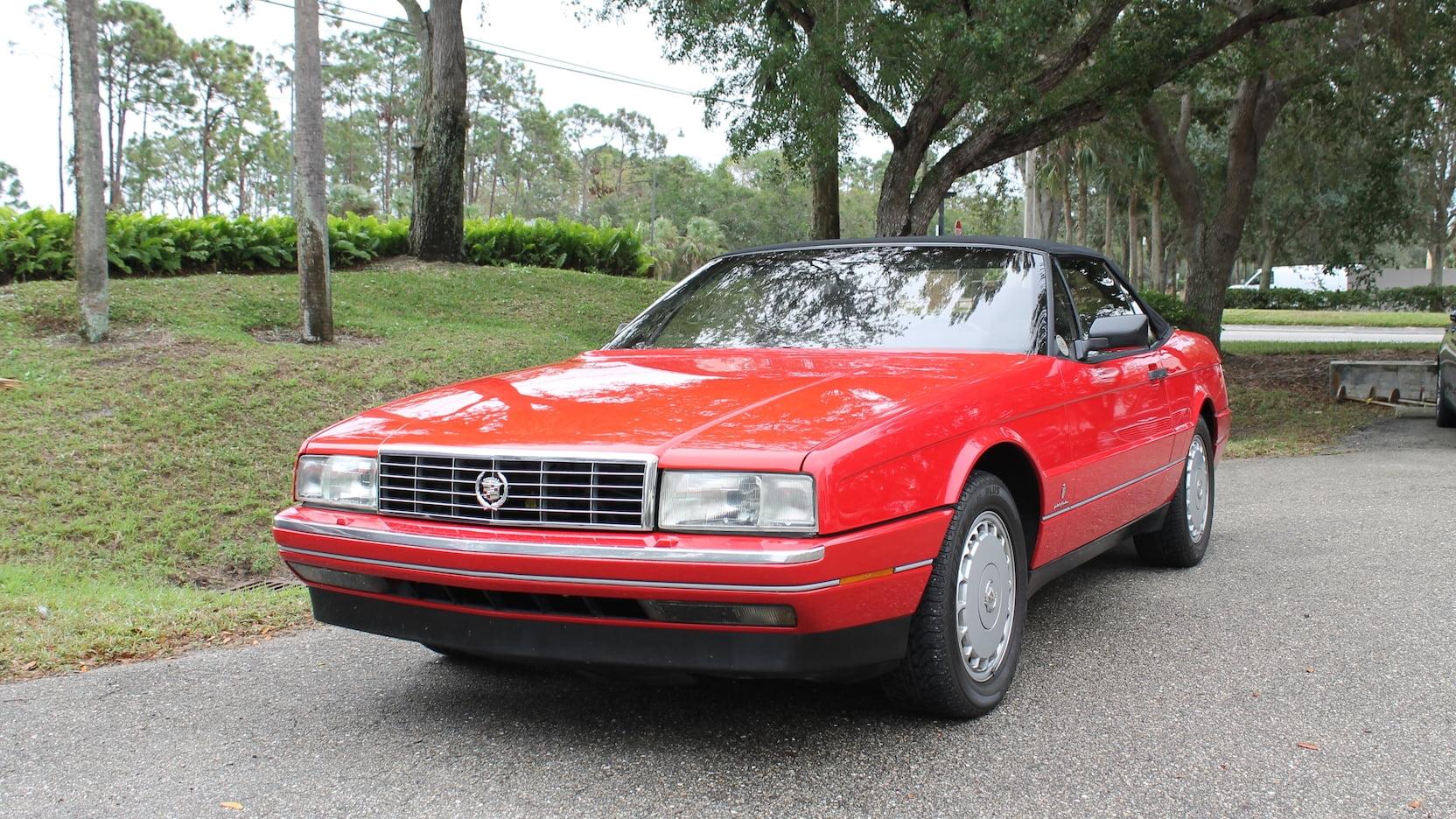 1992 Cadillac Allante front 3/4