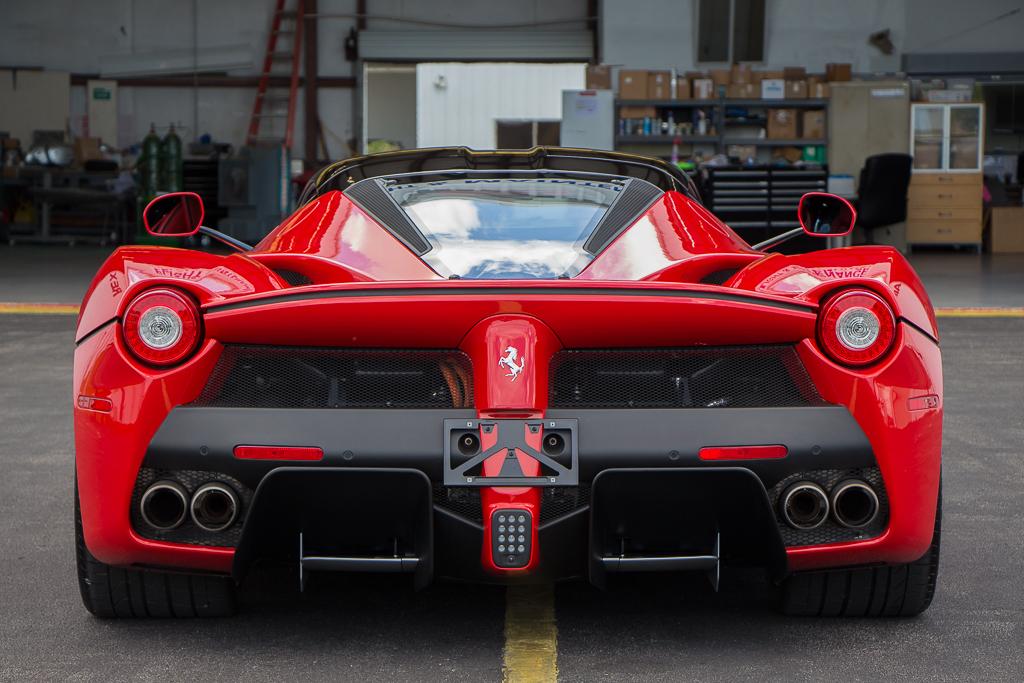 2015 Ferrari LaFerrari Rear