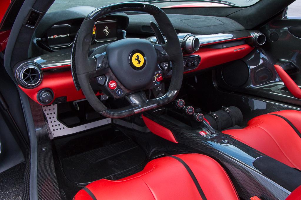 2015 Ferrari LaFerrari interior
