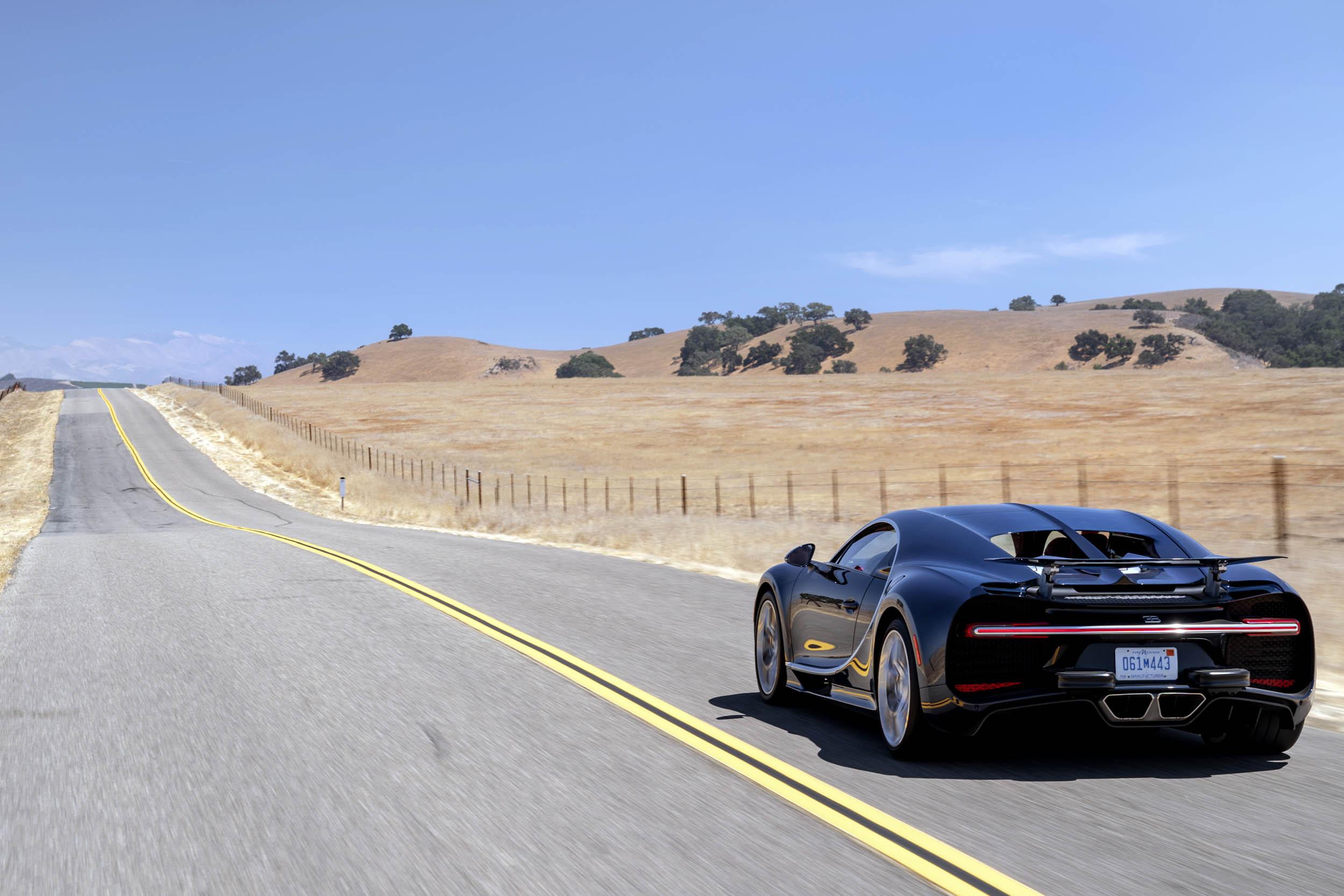 2018 Bugatti Chiron rear