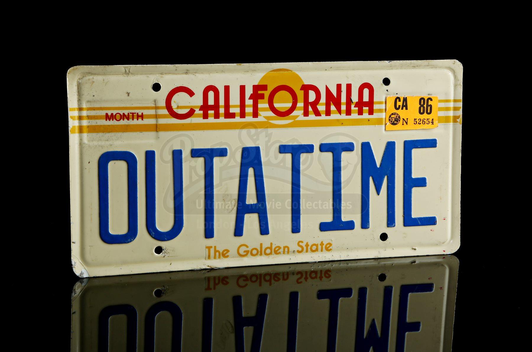 outatime plate