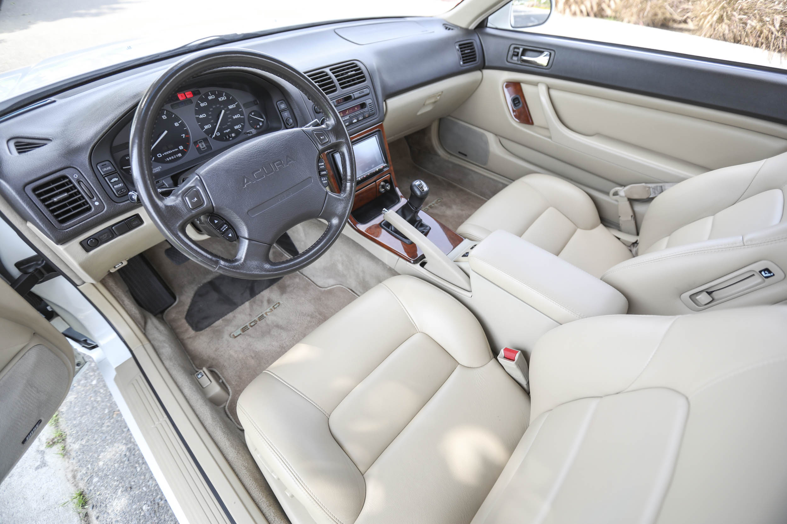 1994 Acura Legend LS interior
