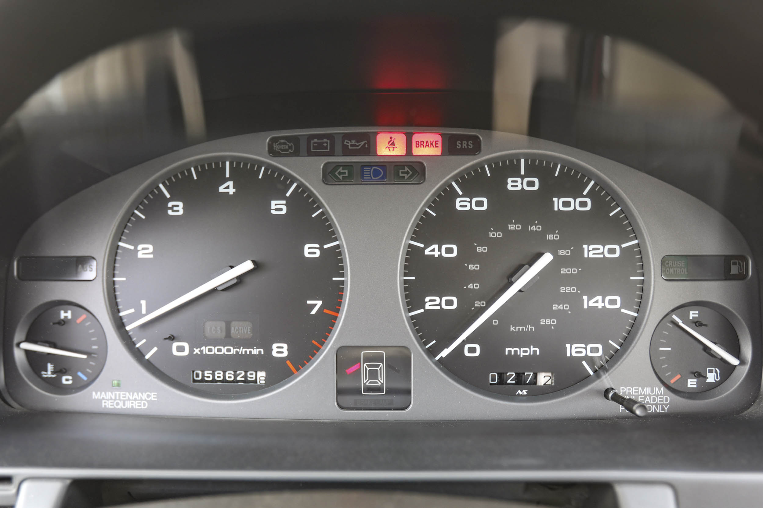 1994 Acura Legend Coupe LS gauge cluster